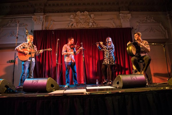 Crossharbour at Bush Hall on 11.5.14. By Mark Harrison